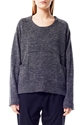 Wood Sweater Black Melange