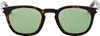 Saint Laurent Brown Tortoiseshell Sl 28 S Sunglasses Ssense