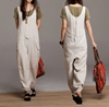 Siamese Trousers Summer Personality Casual Linen By Dreamyil