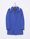 Mackintosh Dunoon Hooded Lp Coat Blue Nitty Gritty Store