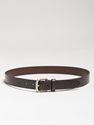 GOODS Copenhagen based web shop Anderson c2 b4s leather belt 2c dark brown