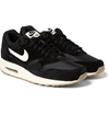 Nike Air Max 1 Essential Suede And Mesh Sneakers Mr Porter