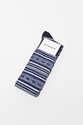 White Mountaineering Knitted Socks Navy TR c3 88S BIEN