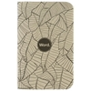 Word Notebooks 3 Pack Tan Leaf At Urban Industry