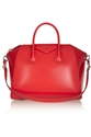 Givenchy Medium Antigona Bag In Red Leather Net A Porter.Com