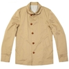 Edifice Chino Cloth Shawl Collar Jacket Beige 