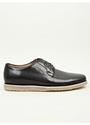 A.P.C. Black Crepe Sole Derby Shoes Oki Ni