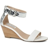 Nanncy leather wedge sandals STEVE MADDEN NEW IN Shoes 7c selfridges com