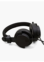 Black Capital Headphones With Mic