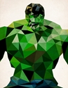 Polygon Heroes Hulk Art Print By Theblackeningco Society6