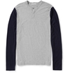 Product James Perse Slub Cotton Henley T Shirt 401382 Mr Porter