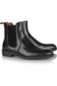 Marc By Marc Jacobs Suede Trimmed Leather Chelsea Boots Net A Porter.Com