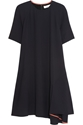 Chloe Draped Crepe Dress Net A Porter.Com