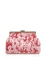 Daisy Jacquard Oversized Clutch Stella Mccartney Matchesfa...