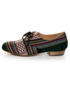 Chelsea Crew Samba Multi Fab Guatemalan Striped Oxfords 2459 00