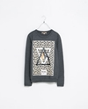 Combined Print Sweatshirt Trf New This Week Zara United States