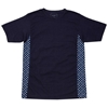 SOPHNET Indigo Fabric Mix Tee Dot