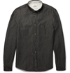 Acne Studios Isherwood Button Down Collar Chambray Shirt Mr Porter