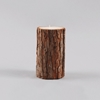 Broste Candle With Bark H15cm Thin Bark