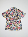 Navy Big Floral Print Lafayette Shirt Engineered Garments