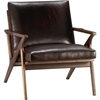 Cavett Leather Chair in New Furniture 7c Crate and Barrel