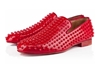 Christian Louboutin Red Patent Leather Rollerboy Spikes 7c Hypebeast