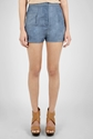 Acne Sensational Denim Shorts By Acne