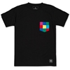 Uniform Experiment Colour Chart Pocket Tee Black