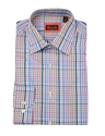Rocola Mens 100 25 Cotton Bright Blue 26 Pink Check Shirt Regency Shirt Company