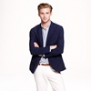Ludlow Sportcoat In Navy Lightweight Cotton Sportcoats Vests Men's New Arrivals J.Crew