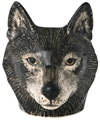 Wolf Face Ceramic Egg Cup Buy Unique Art And Designer Products Shipped Worldwide Third Drawer Down