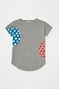 Polkadot patch t shirt