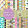 Let Us Party 2 Instant Download Digital By ... Surface Pattern Desi