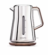 Amazon.Com Krups Bw600 Silver Art Collection Cordless Electric Kettle With Chrome Stainless Steel Housing Silver Kitchen Dining