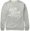 Product Maison Kitsune Printed Loopback Cotton Sweatshirt 373119 Mr Porter