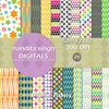 Let Us Party Instant Download Digital By ... Surface Pattern Design