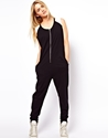 ASOS 7c ASOS Onesie with Colour Block Shoulder Detail at ASOS