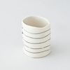 Btw Ceramics Short Striped Cup Home Steven Alan