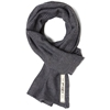 The Hill Side Old Virginia Modified Herringbone Scarf Pewter Marine