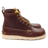Haven Maine Guide 6 Eye Boots Wax Red