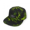 maui 5 panel camper 2c black Headwear Shop