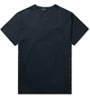 Johnundercover Navy Side Stitch S S Pocket T Shirt Hypebeast Store. Shop Online For Men's Fashion Streetwear Sneakers Accessories