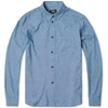 A.P.C Chambray Work Shirt Indigo