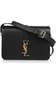 Saint Laurent Monogramme Sac Universite Leather Shoulder Bag Net A Porter.Com