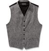 Ann Demeulemeester Striped Cotton Blend Waistcoat Mr Porter