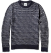 S N S Herning c2 a0Emergent Basket Weave Cotton and Merino Wool Blend Sweater c2 a0 7c c2 a0MR PORTER