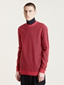 Lanvin Men's Fishnet Stitch Long Sleeved Sweater Ln Cc