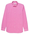 Drive Pink Small Collar Slim Fit Shirt REISS
