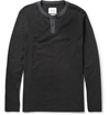 Saturdays Surf Nyc Nolan Cotton Jersey Henley T Shirt Mr Porter