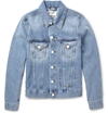 Acne Studios Jam Slim Fit Washed Denim Jacket Mr Porter